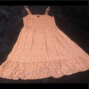 Torrid pink medallion dress size 1x
